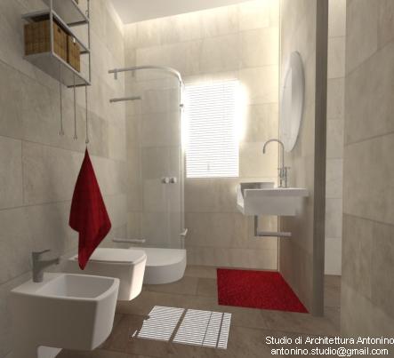 Arredare il bagno piccolo studio di architettura antonino for Arredare bagno piccolo con lavatrice
