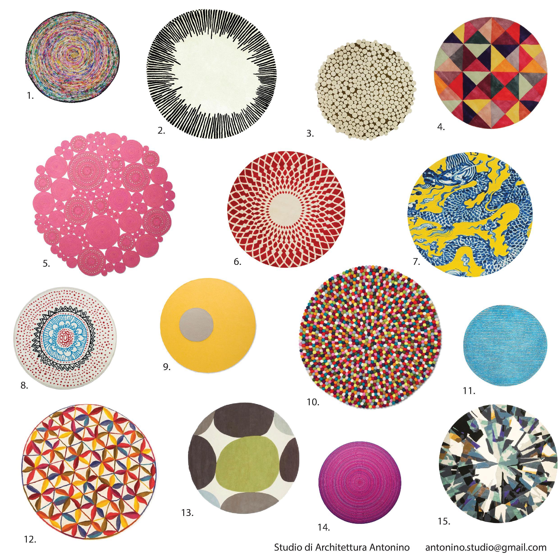 Emejing tappeti rotondi moderni pictures - Tappeti moderni ...