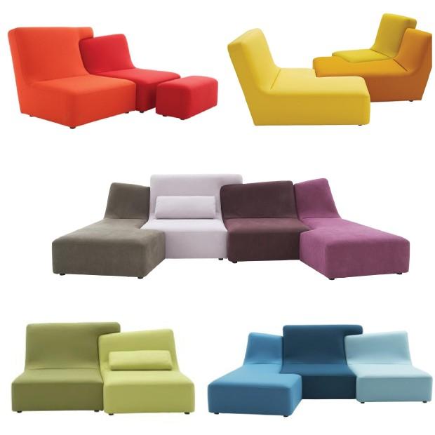 divani componibili studio di architettura di milano. Black Bedroom Furniture Sets. Home Design Ideas